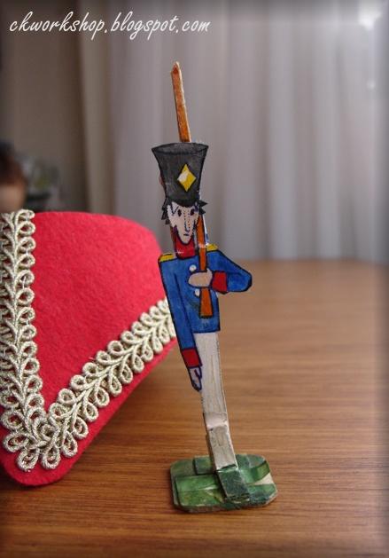 Как сделать оловянный солдатик своими руками