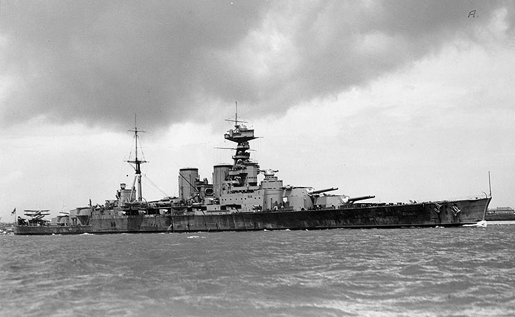 HMS Hood Battleship Wreck http://nineteenkeys.blogspot.com/2010/05/remembering-hms-hood-sunk-on-this-day.html