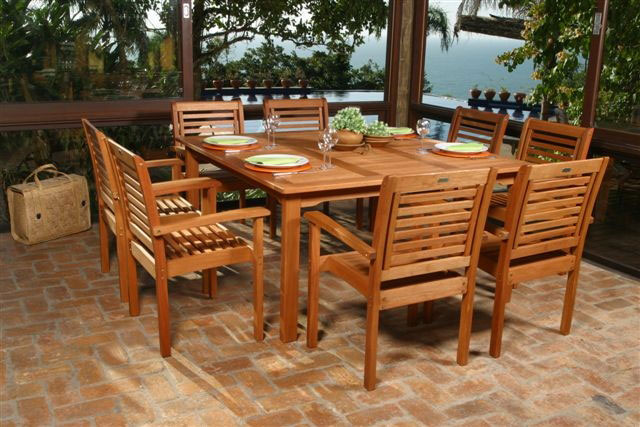 Wood Backyard Furniture ~ Wooden garden furniture