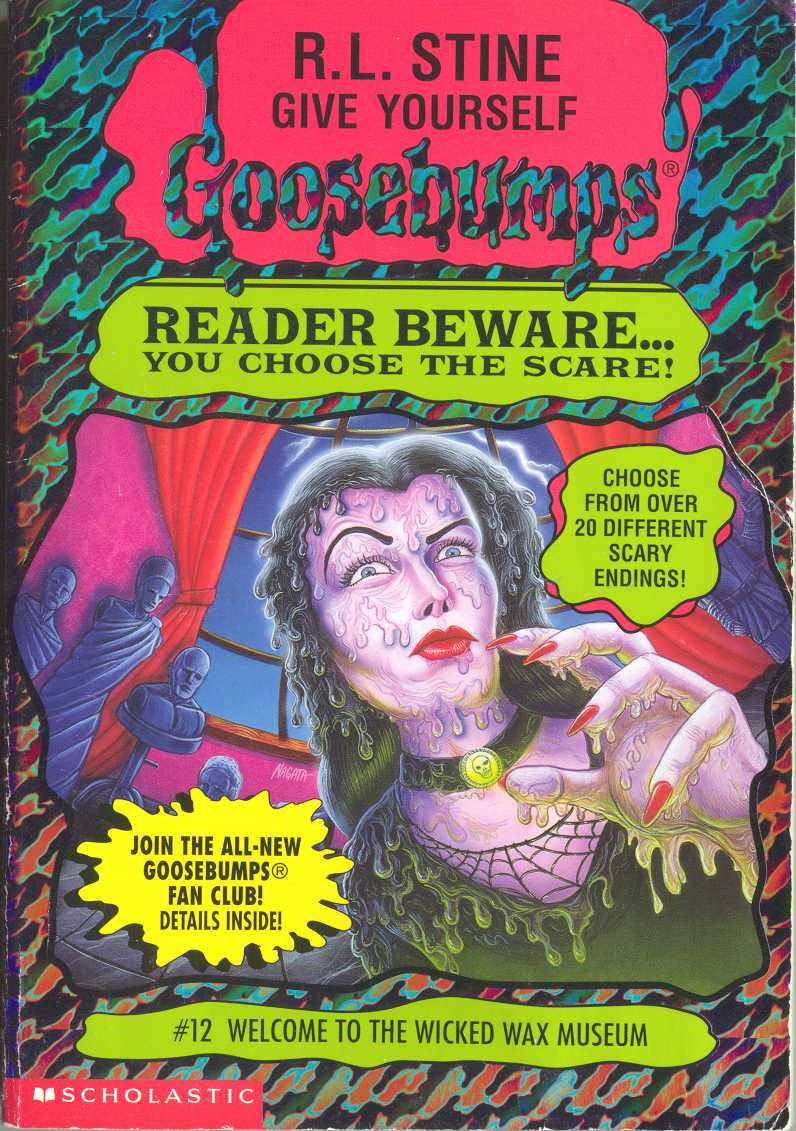Goosebumps World Welcome To The Wicked Wax Museum