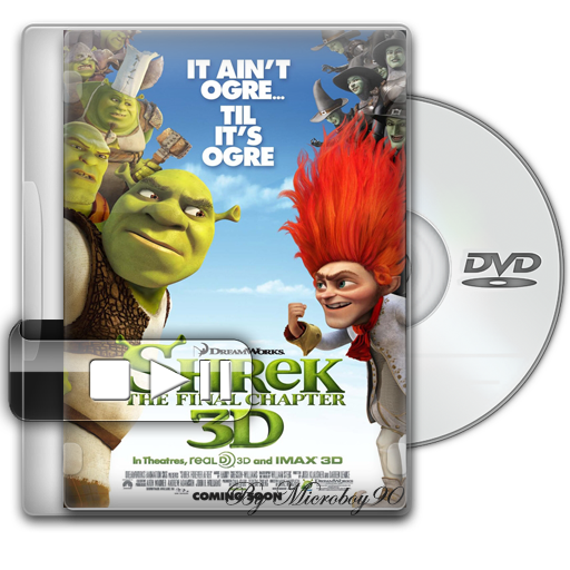 Shrek 4 - Forever After [Excelente Calidad][Rmvb][Sub-Esp]