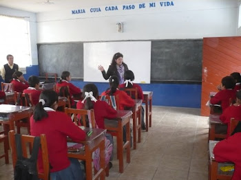 Saludos a los niños de Bambamarca, Perú