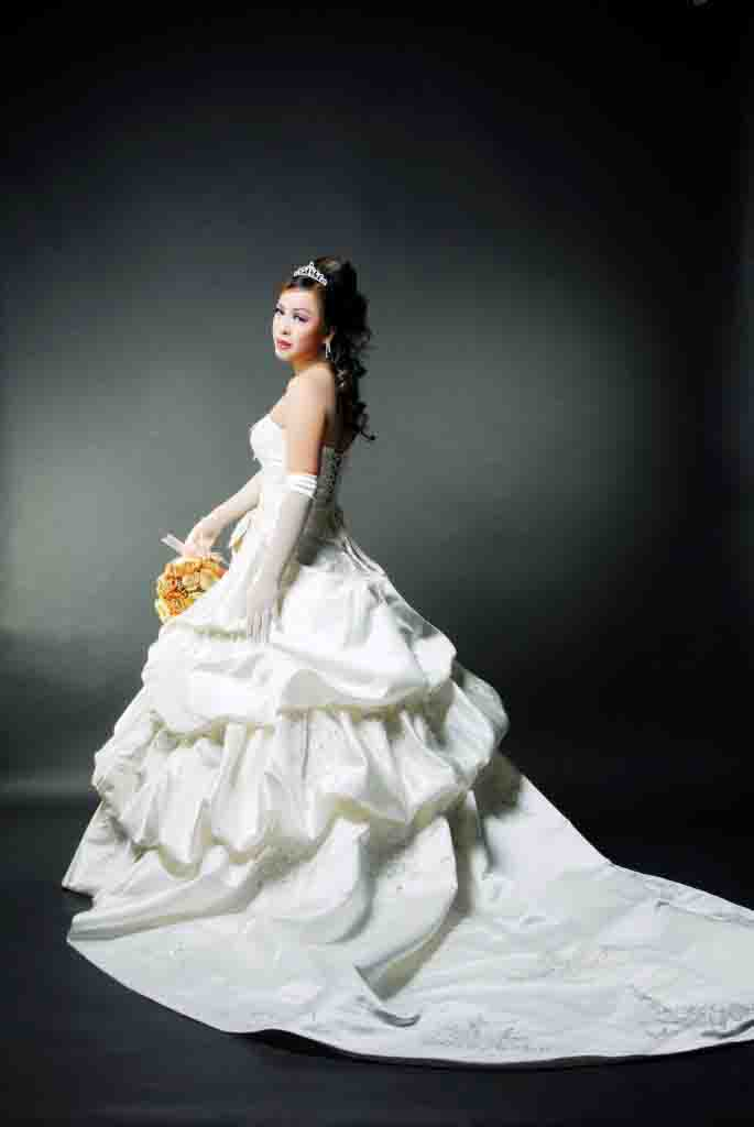 wedding dress:match your body shape