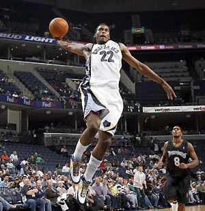 Rudy Gay Dunk Contest 13
