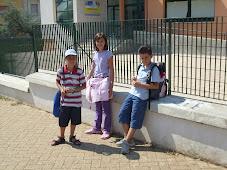 Primo giorno di scuola a.s. 2008/2009