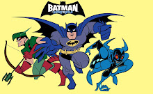 Batman el Valiente junto a sus amigos.