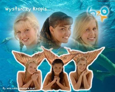 H2o sirenas del mar serie de nickelodeonh2o sirenas del mar