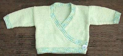 Free Knitting Pattern Baby Kimono Sweater : KNITTING PATTERNS FOR KIMONO BABIES 1000 Free Patterns