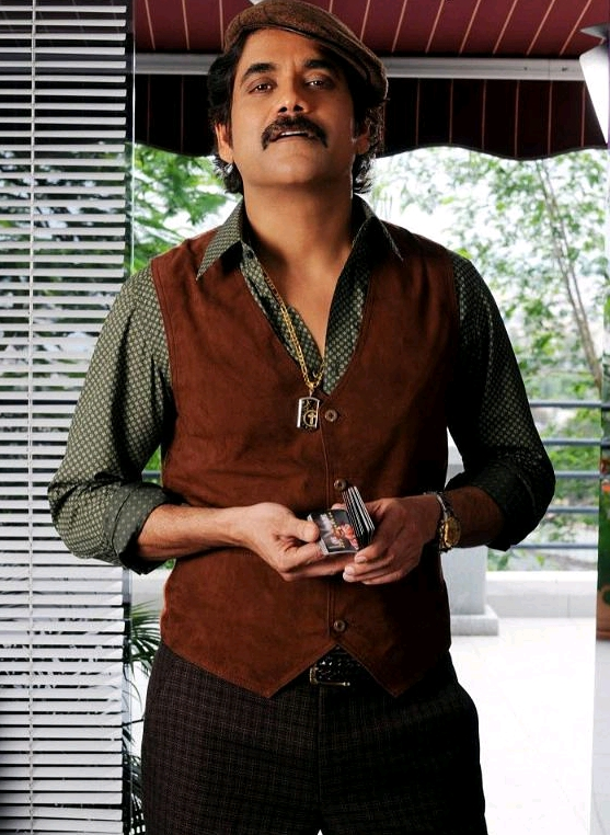 nagarjuna stills in movie kedi actors photos