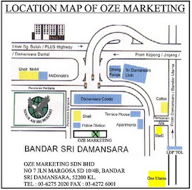 Lokasi Oze Marketing