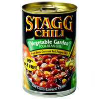 Stagg 4 bean vegetable chili