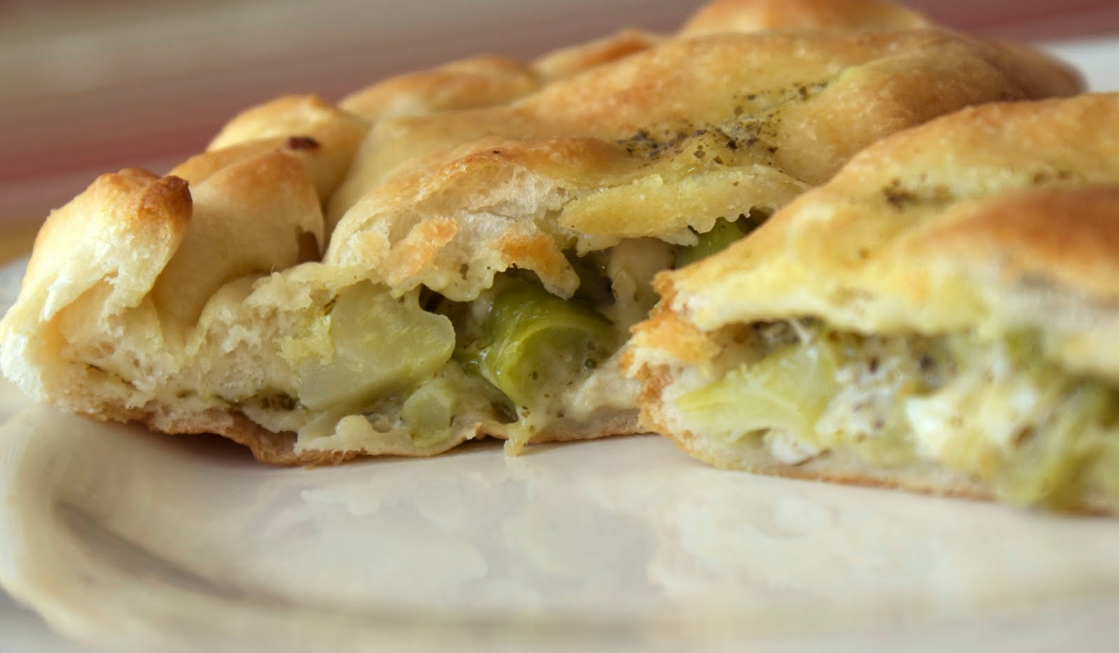 Chicken Broccoli Calzone ~ Heat Oven to 350