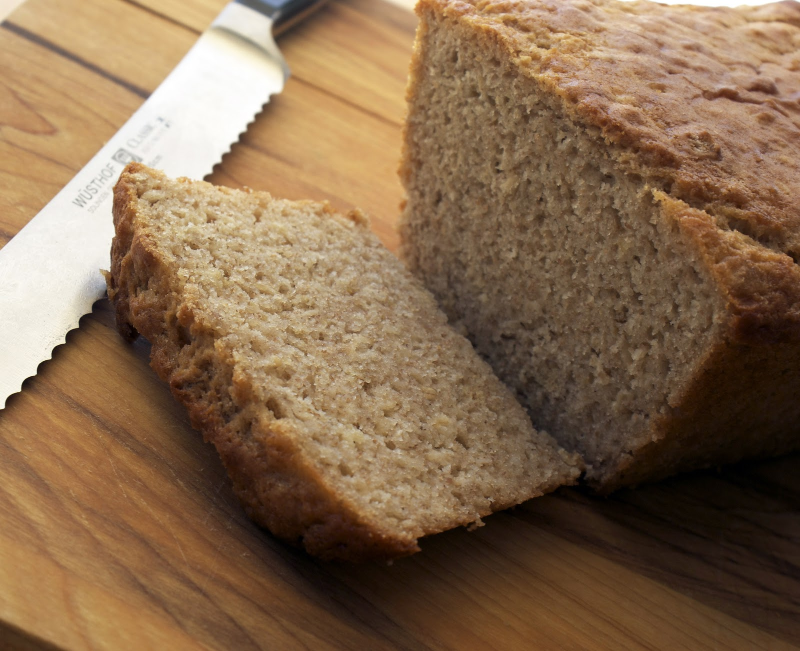 Maple-Oat Buttermilk Quick Bread ~ Heat Oven to 350
