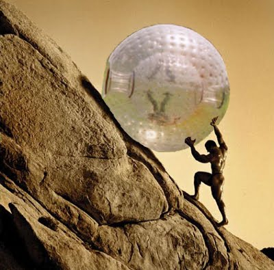 The Зорб of Sisyphus
