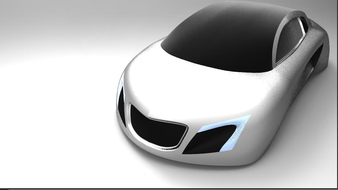 3d modeling car modeled in pro e
