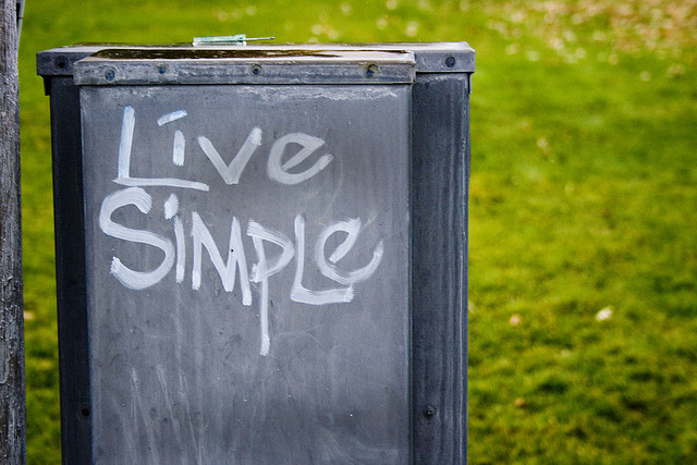 live is simple