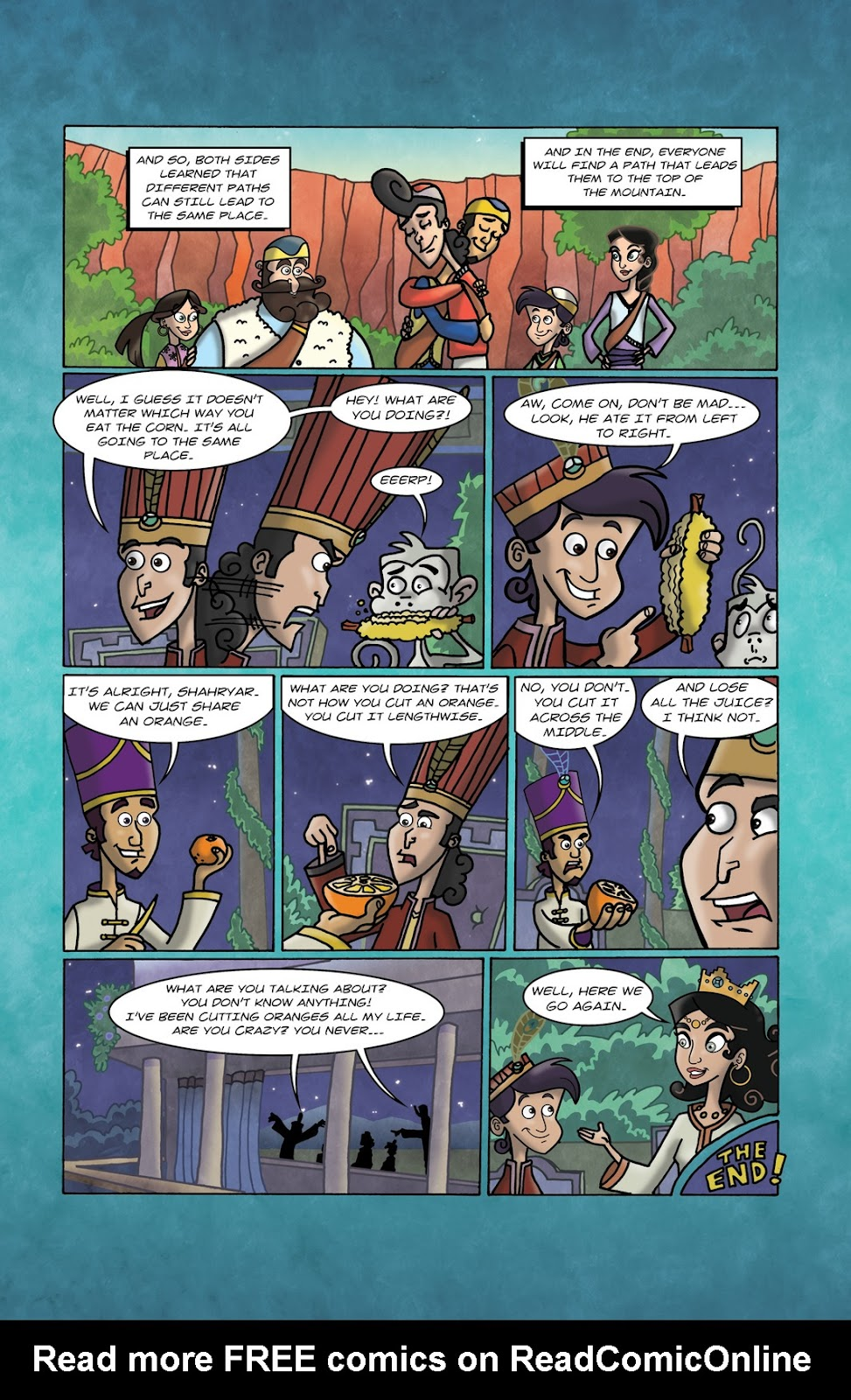 1001 Nights Issue #10 Page 24