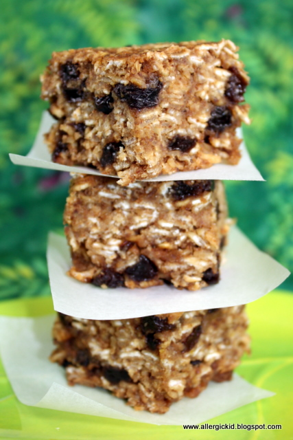 The Allergic Kid: Chunky, Chewy, Nut Free Granola Bars
