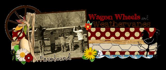 Wagon Wheels and Weather Vanes Blog Design