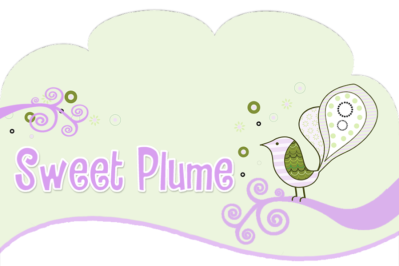 Sweet Plume Blog Design