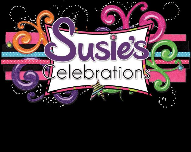 Susie's Celebrations Blog Design