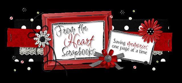 From the Heart Scrapbooks Blog Design