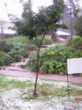 Major hail storm