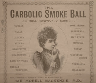 "carlile vs carbolic smoke company Carlill v carbolic smoke ball co [1892] 2 qb  ""100 pounds reward will be paid by the carbolic smoke ball company to any person who contracts the increasing."