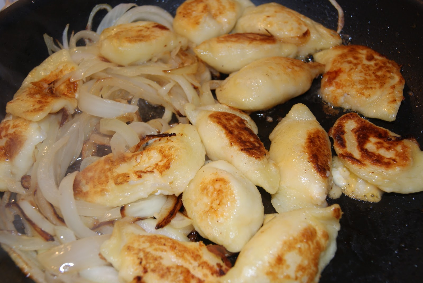 ... perogies, another person can boil the perogies....there is always a
