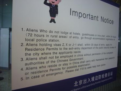 I'm an Alien in Beijing!