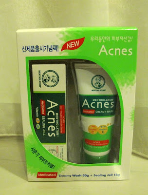 Acnes Creamy Wash and Sealing Jell
