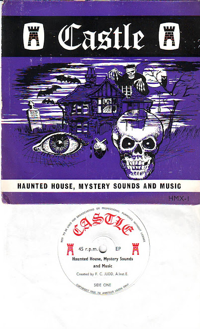 CASTLE haunted house , mystery sounds and music