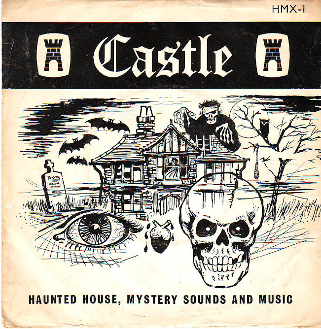CASTLE haunted house,mystery sounds and music