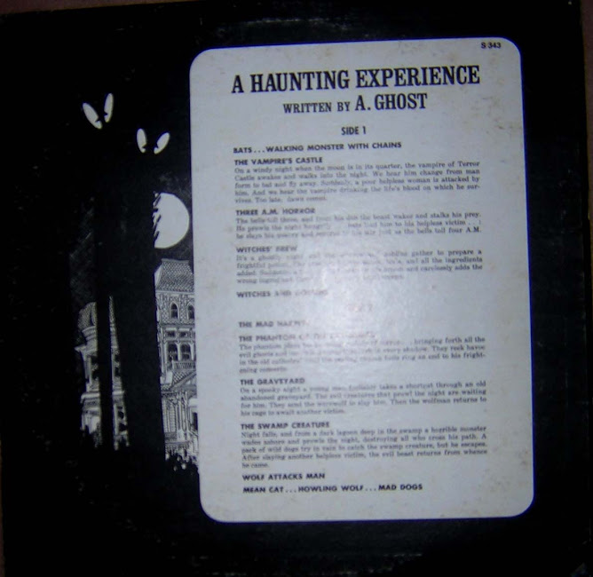 a haunting experience