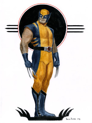 Wolverine by Paolo Rivera