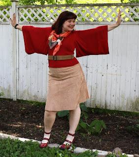 kimono sleeves, hanging sleeve