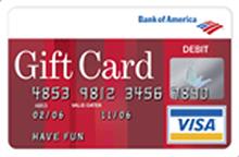 Bank Of America Gift Card - justsingit.com