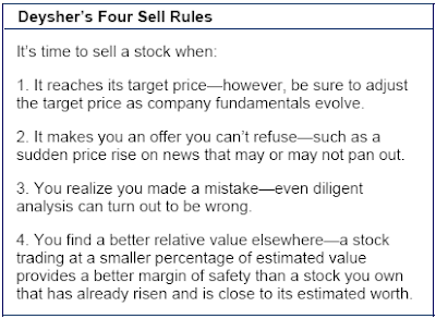 stock sell rules