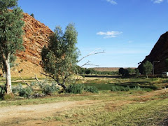 Heavytree gap, entance to Alice springs, NT
