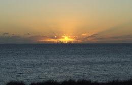 sunset at Whalebone bay
