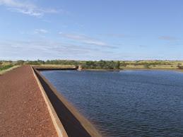 Mary Anne dam near Tennant creek,NT