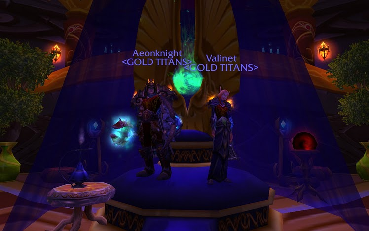 Me & My Guild Leader, Valinet