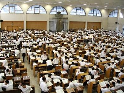 hevruta study in a yeshiva