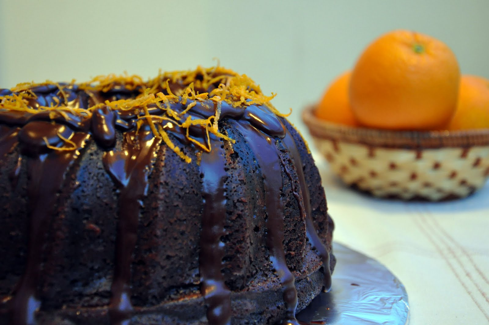 Served with love: Chocolate Orange Bundt Cake