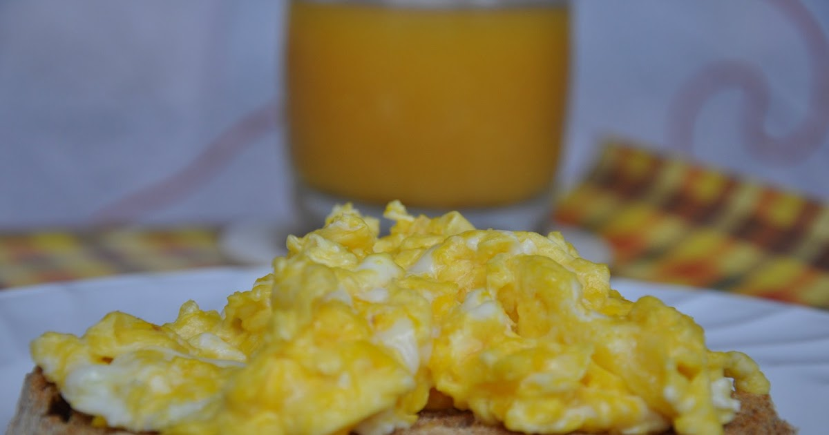 Served with love: Scrambled Eggs and An Award