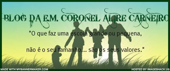 BLOG DA ESCOLA MUNICIPAL CORONEL ALIRE CARNEIRO