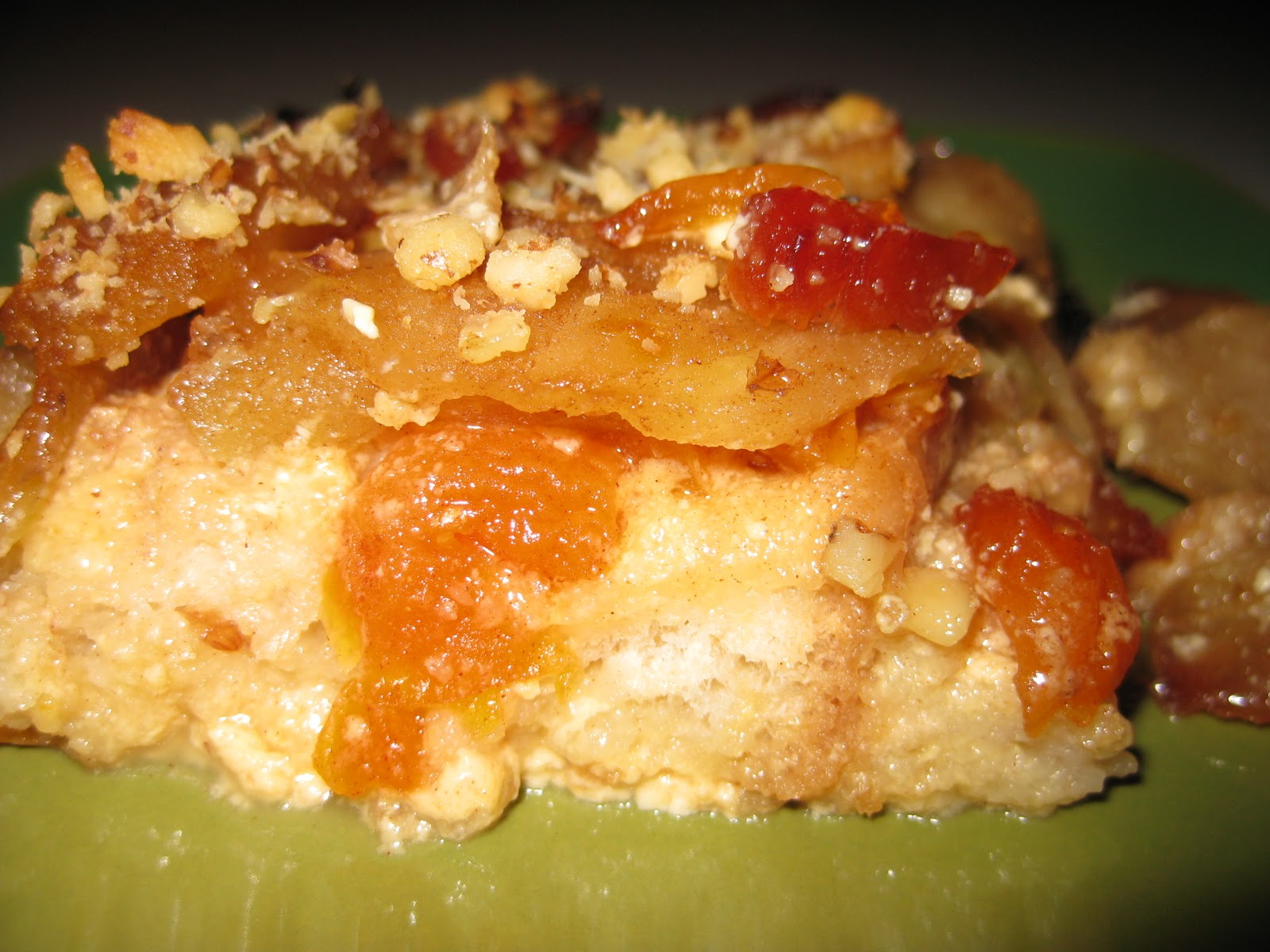 Sisters and Friends: Baked Eggnog French Toast with Apples and ...