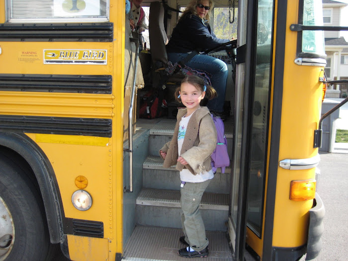 Sydney's first bus ride