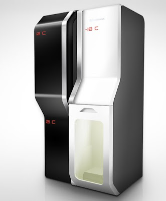 Electrolux Design Lab Finals - Teleport Fridge