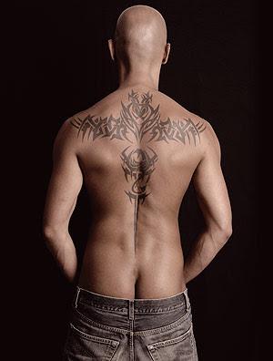 tatuaje sexy espalda
